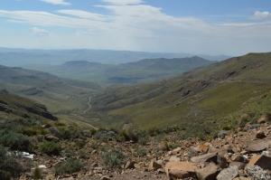 The Decent, Maabeng Pass looking East.