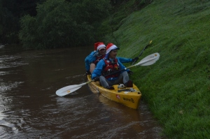 Jurie and Devon begin their last day of Paddling for the Trailblazer SALT Senqu Expedition.