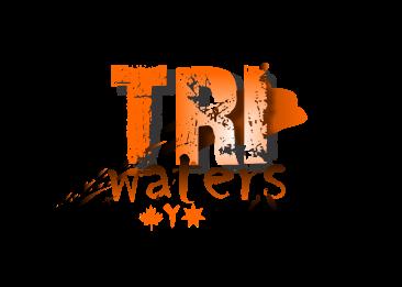 Tri waters logo no kayak